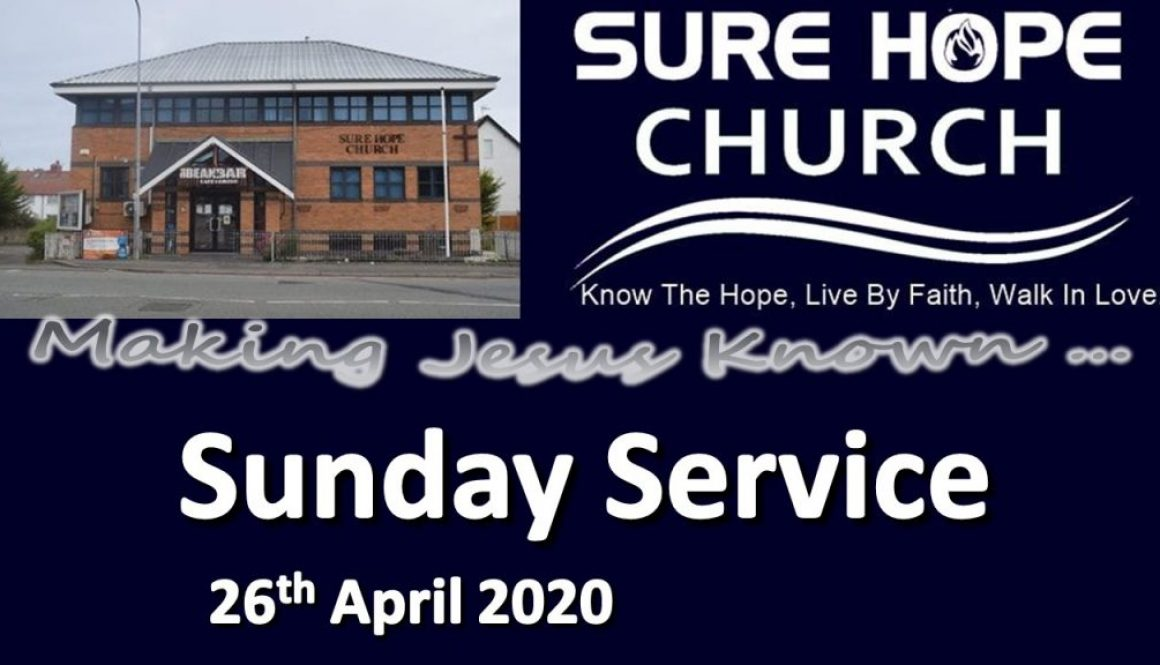 Sunday Service notice 2020-04-26