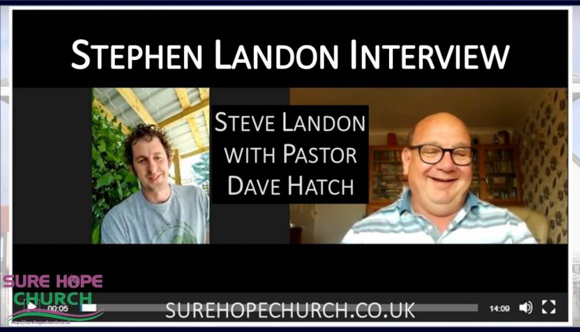 Steve Landon Interview featured image 2020-05-30