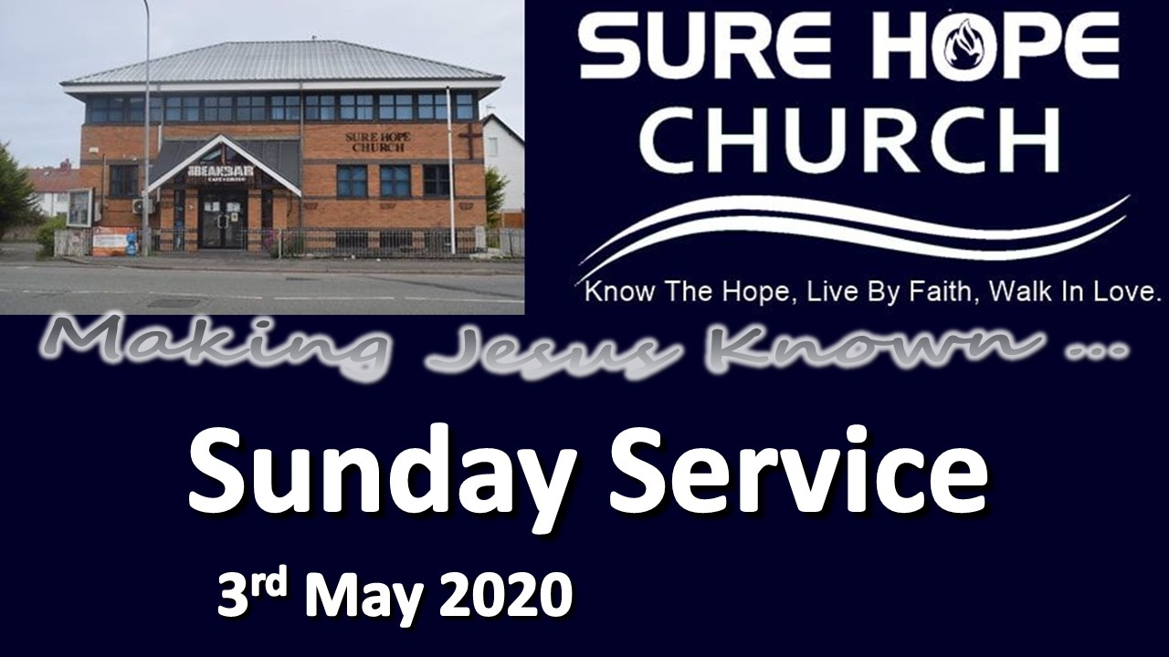 Sunday Service notice 2020-05-03