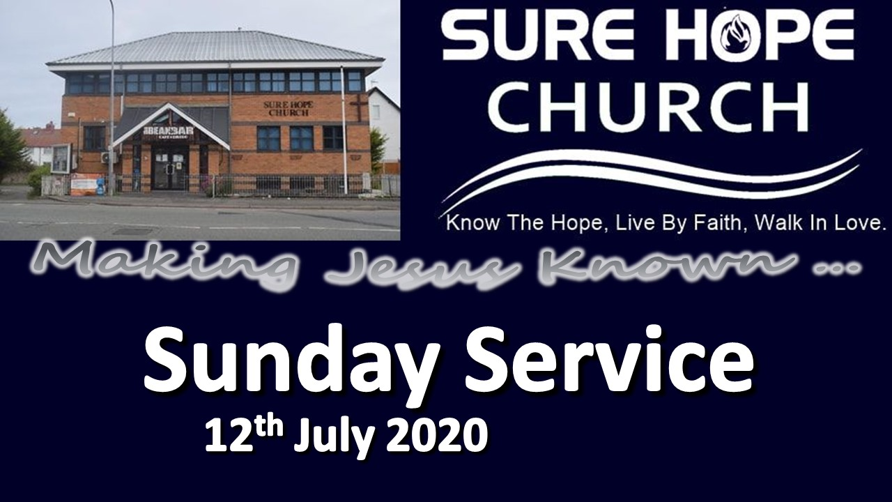 Sunday Service notice 2020-07-12