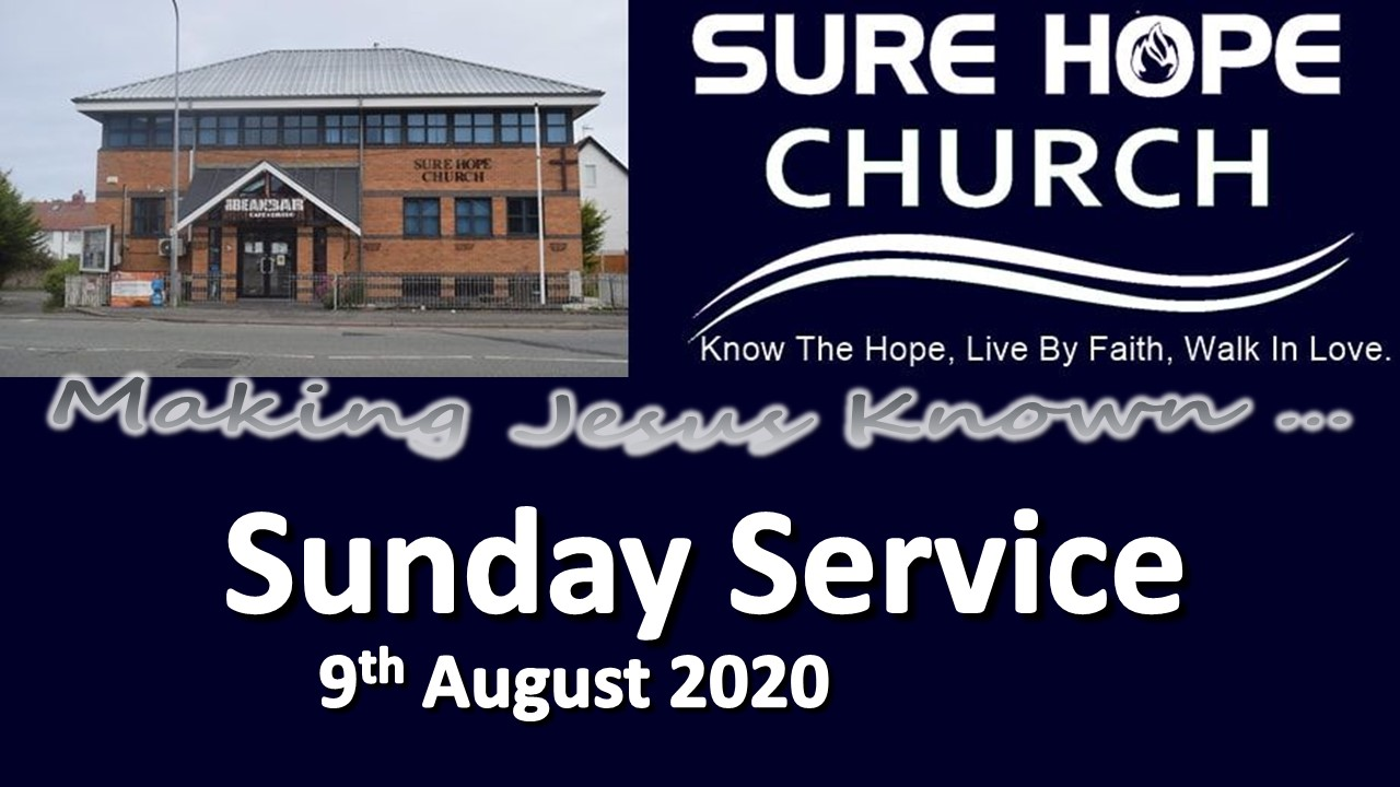 Sunday Service notice 2020-08-09