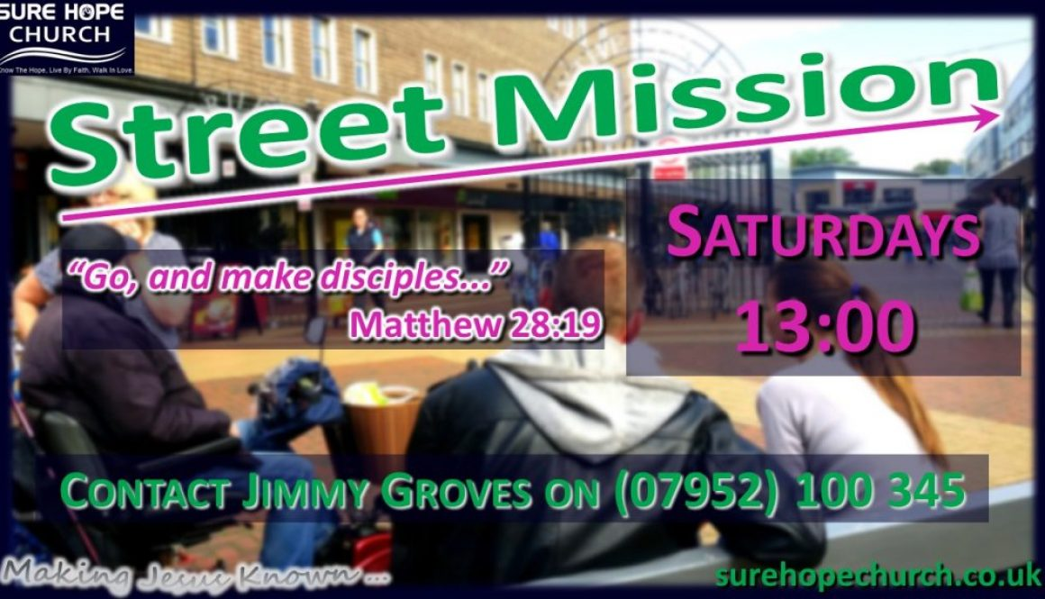 Street Mission - poster 2020-09-05